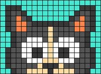 Alpha pattern #66330 variation #123267