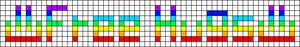 Alpha pattern #1776 variation #123452