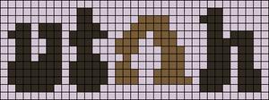 Alpha pattern #55268 variation #123696
