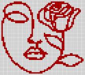 Alpha pattern #66709 variation #123717