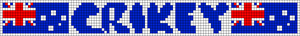 Alpha pattern #66667 variation #123720