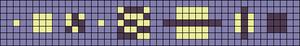 Alpha pattern #66741 variation #123848