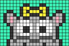 Alpha pattern #66828 variation #123980