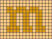 Alpha pattern #286 variation #124260
