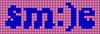 Alpha pattern #60503 variation #124295