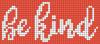 Alpha pattern #54901 variation #124305