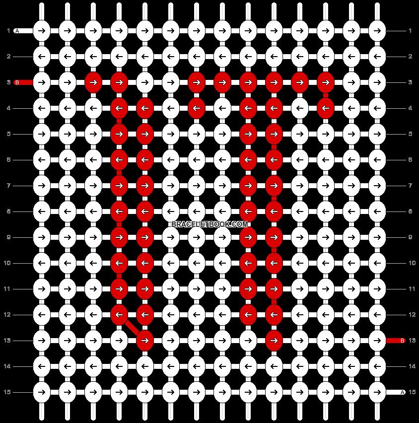 Alpha pattern #50227 variation #124607 pattern