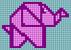 Alpha pattern #66642 variation #124710