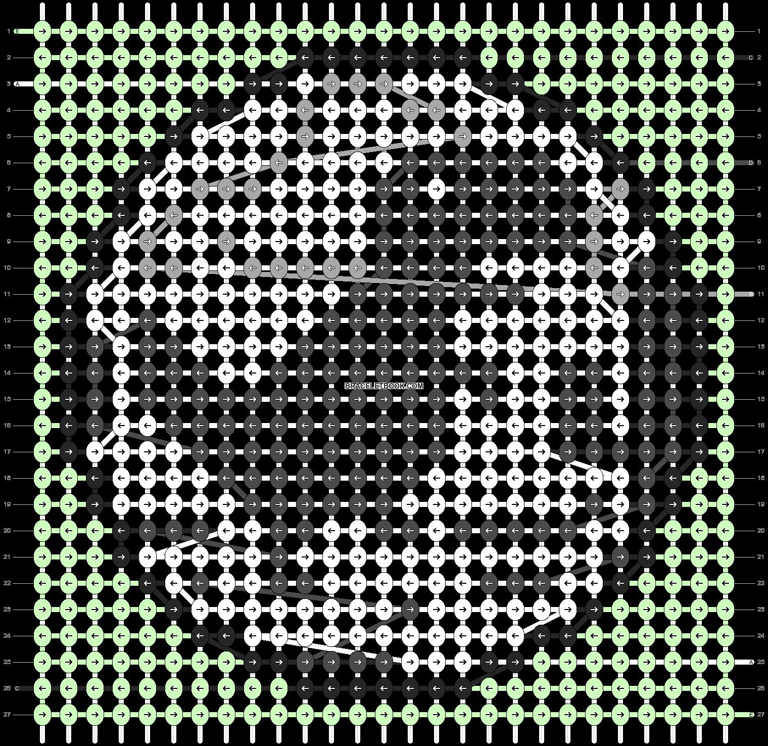 Alpha pattern #67349 variation #125400 pattern
