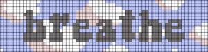 Alpha pattern #68555 variation #126474