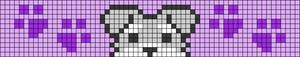 Alpha pattern #51650 variation #126698
