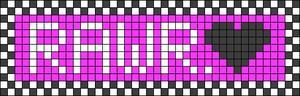 Alpha pattern #5927 variation #126830