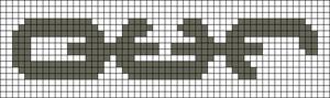 Alpha pattern #54343 variation #126974