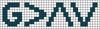 Alpha pattern #41855 variation #127028