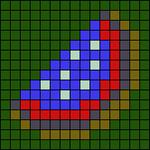 Alpha pattern #39516 variation #127341