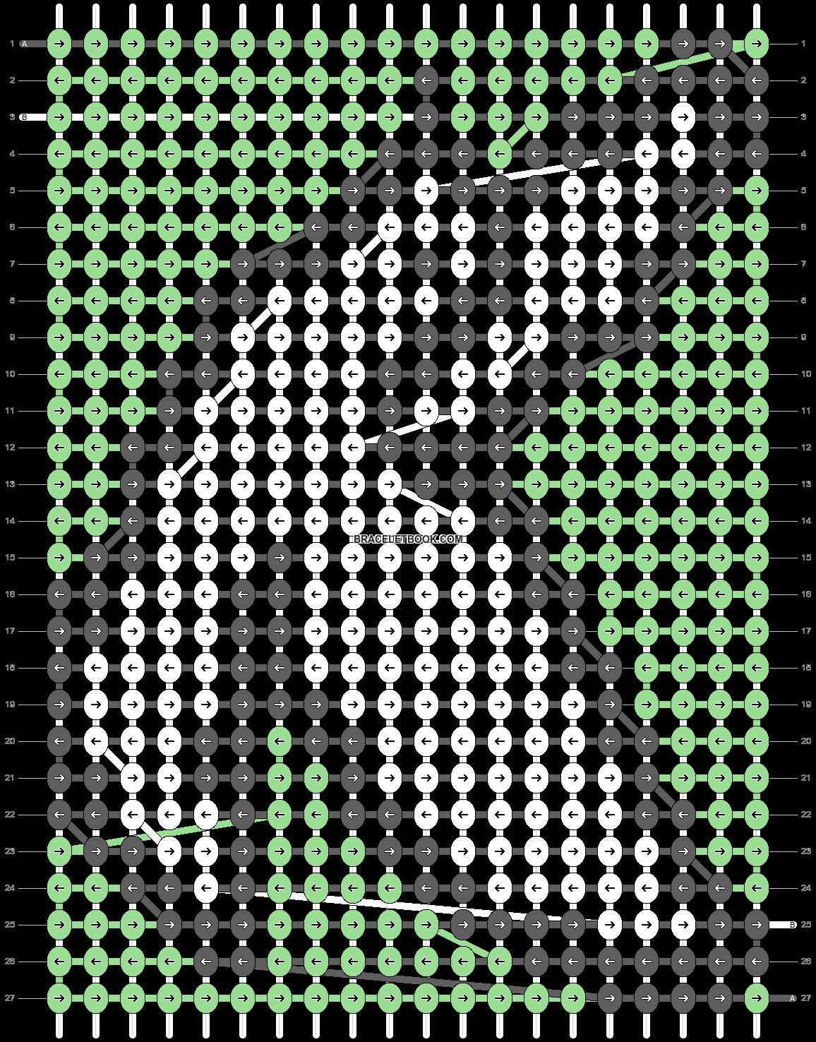 Alpha pattern #69338 variation #127860 pattern