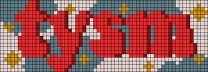 Alpha pattern #69375 variation #128151