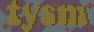 Alpha pattern #69375 variation #128235