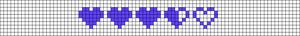 Alpha pattern #17376 variation #128282