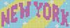Alpha pattern #45088 variation #128514