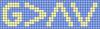 Alpha pattern #41855 variation #128516