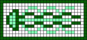 Alpha pattern #69710 variation #128532