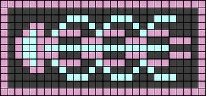 Alpha pattern #69710 variation #128535