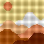 Alpha pattern #62828 variation #128901