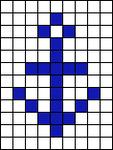 Alpha pattern #481 variation #129008