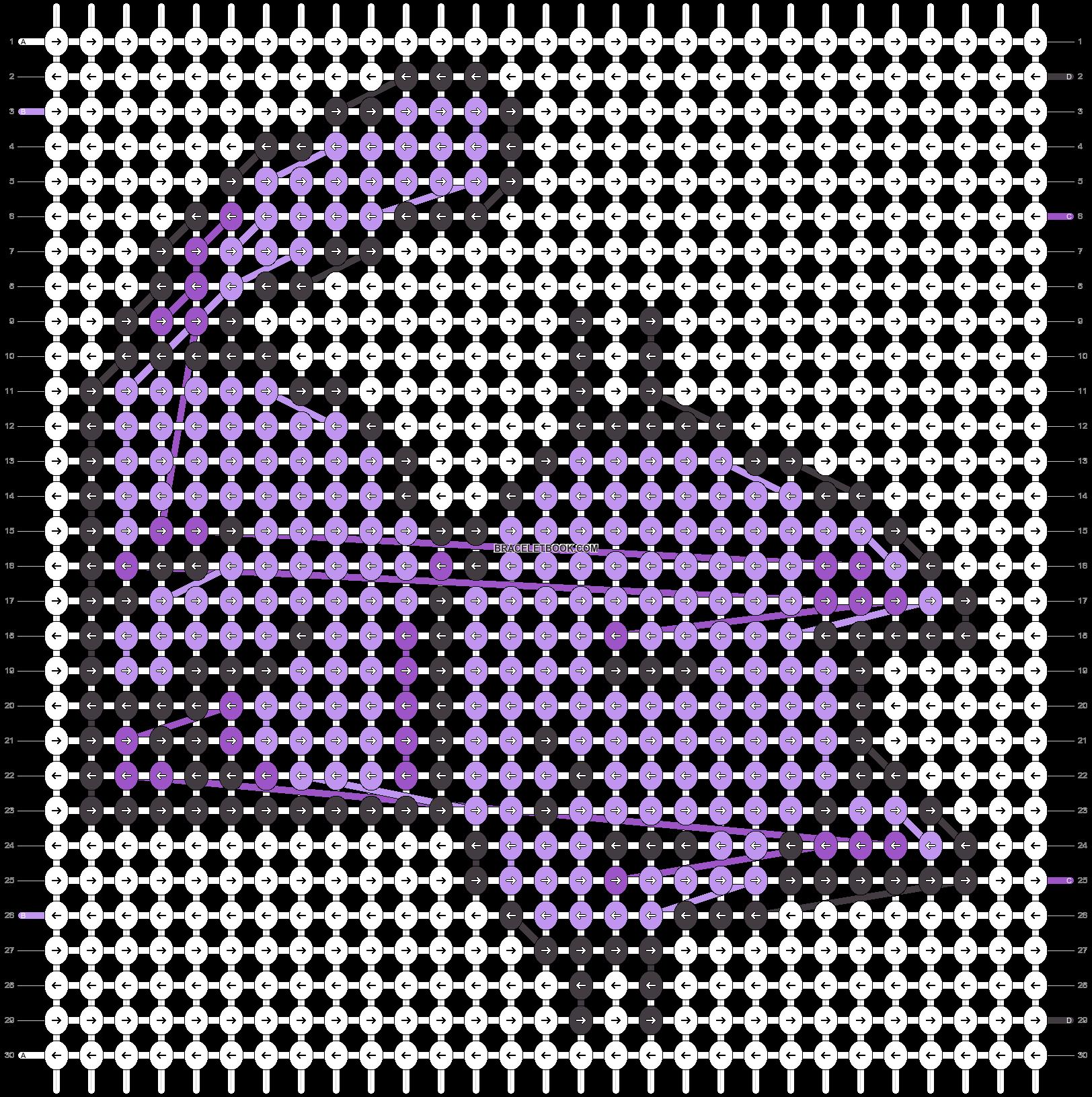 Alpha pattern #41020 variation #129365 pattern