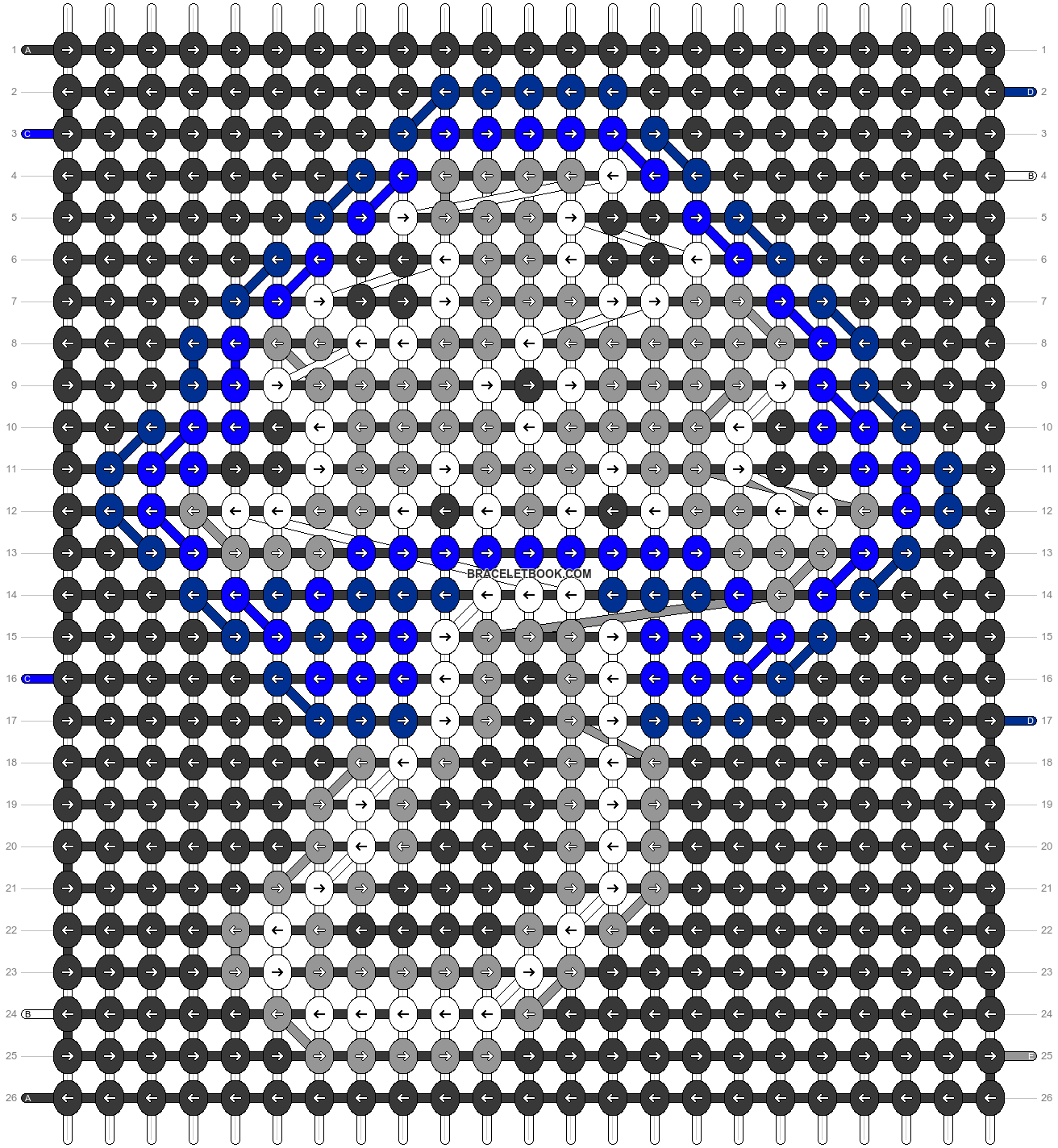 Alpha pattern #70001 variation #129603 pattern