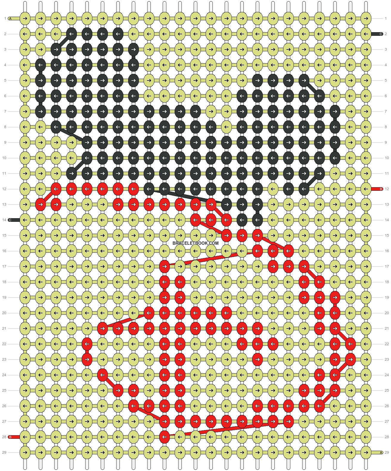 Alpha pattern #33511 variation #129613 pattern