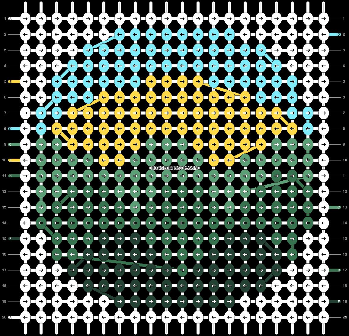 Alpha pattern #51469 variation #129996 pattern