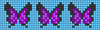 Alpha pattern #47765 variation #130197