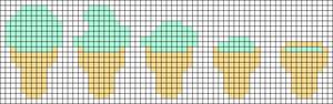 Alpha pattern #35773 variation #130659