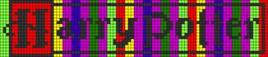 Alpha pattern #71110 variation #130995
