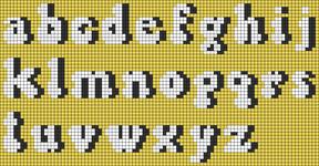 Alpha pattern #62229 variation #131113