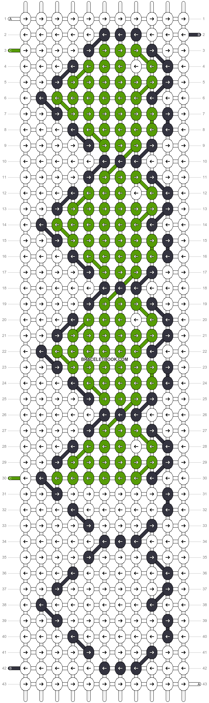 Alpha pattern #13244 variation #131626 pattern
