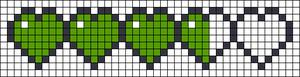 Alpha pattern #13244 variation #131626