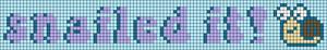 Alpha pattern #58260 variation #131730