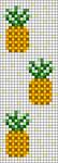 Alpha pattern #69919 variation #132495