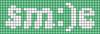 Alpha pattern #60503 variation #133382