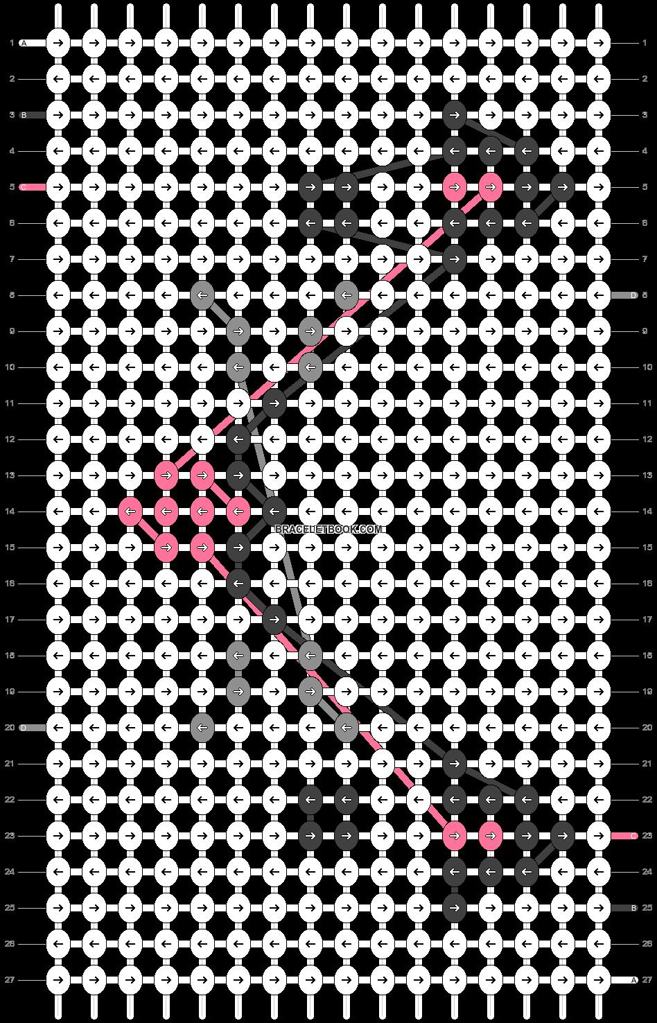 Alpha pattern #72742 variation #133574 pattern