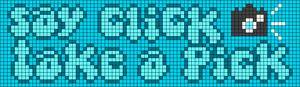 Alpha pattern #73327 variation #134173
