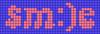 Alpha pattern #60503 variation #134261