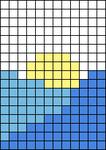 Alpha pattern #61484 variation #134336