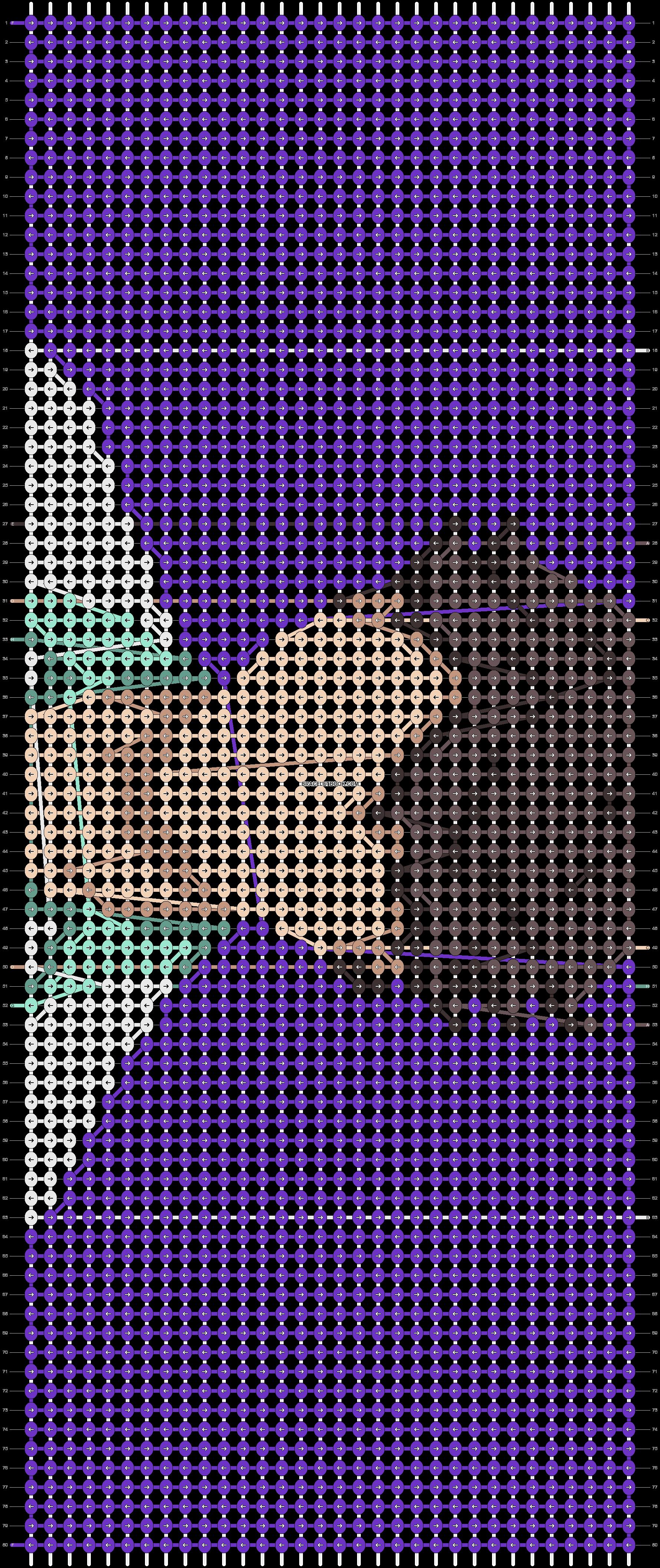 Alpha pattern #73406 variation #134391 pattern