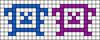 Alpha pattern #5676 variation #134475