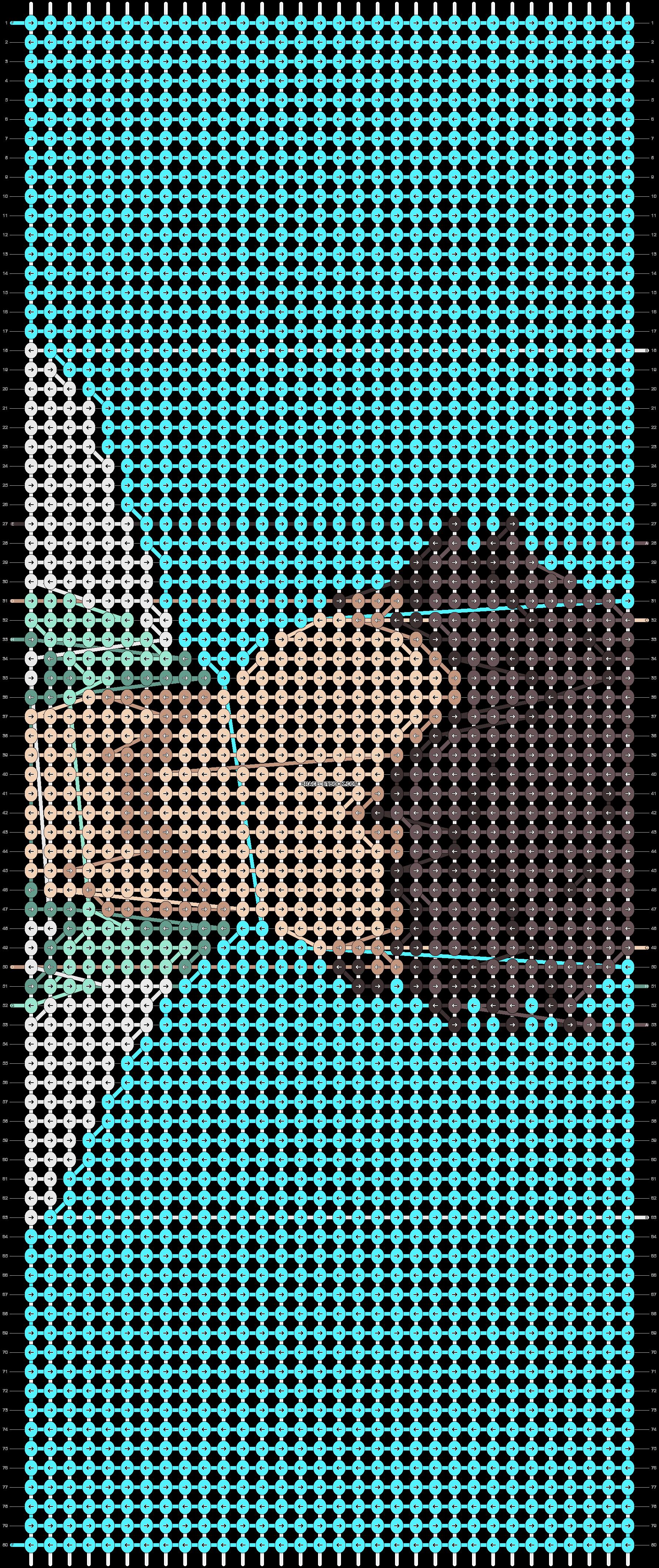 Alpha pattern #73406 variation #134501 pattern