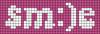 Alpha pattern #60503 variation #134516